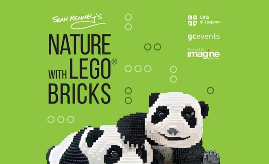 4607fa501241 SEAN KENNY S NATURE with LEGO BRICKS a Lugano fino al 3 marzo